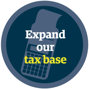 Expand Our Tax Base